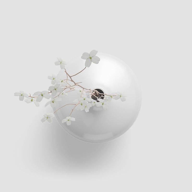 White Ceramic Vase