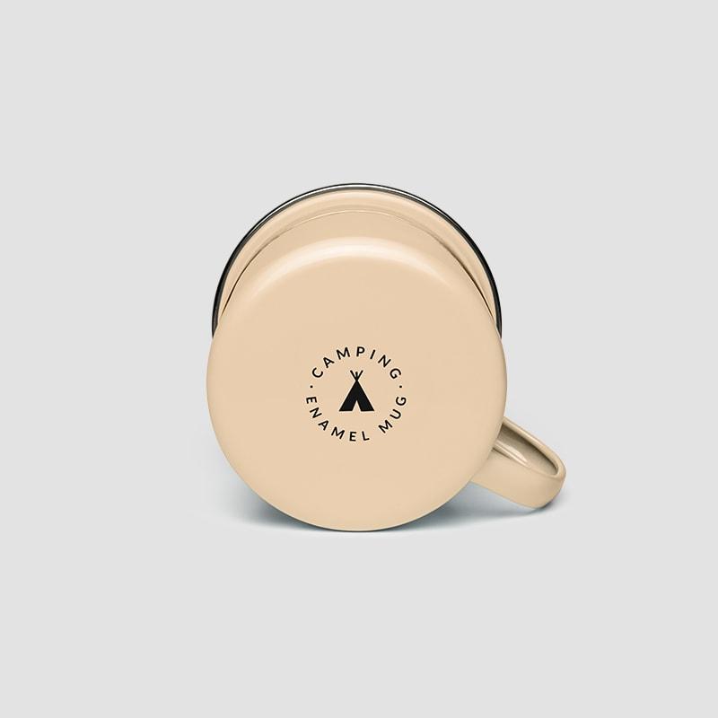 Fancy Enamel Mug