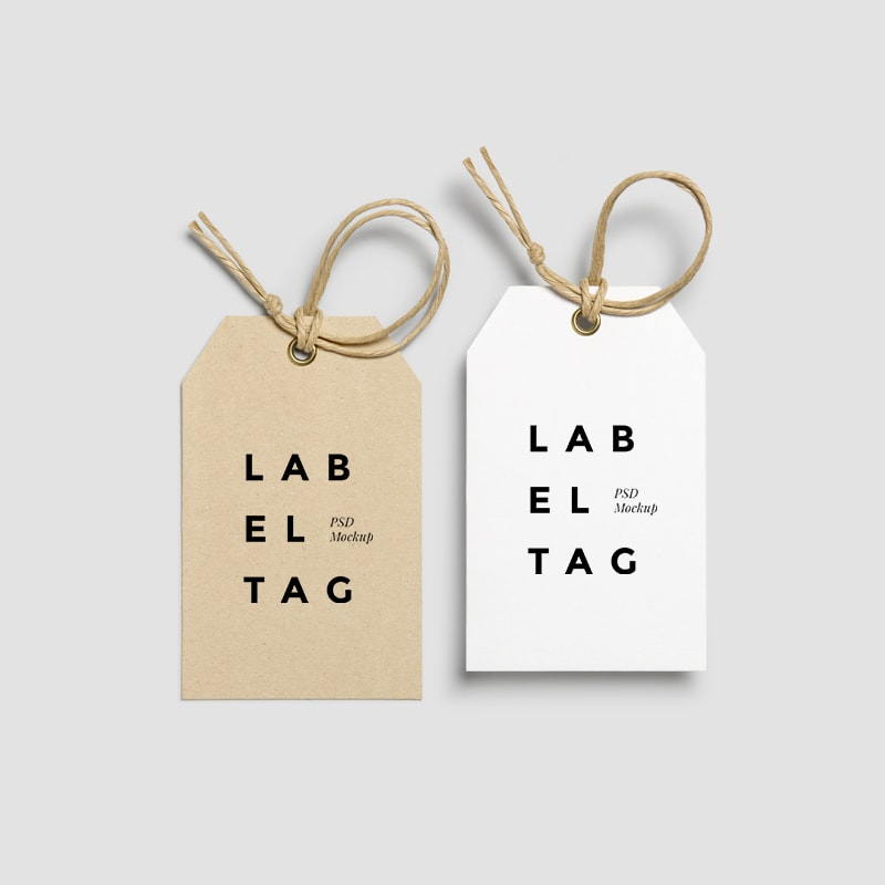 Paper Label Tag